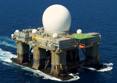 SMDC SBX Floating Radar Station